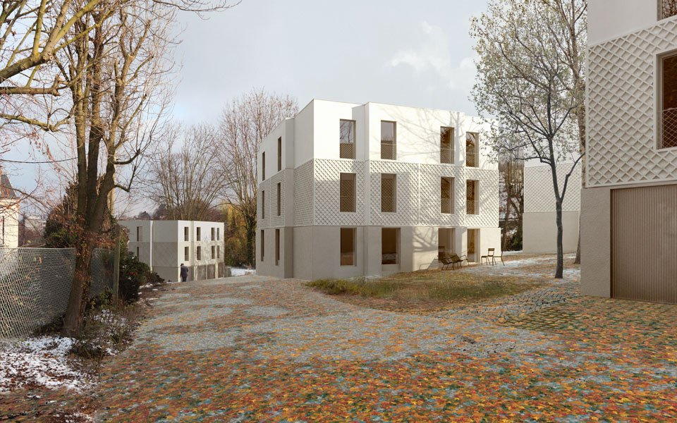 Abinal & Ropars - LOGEMENTS A SEVRES, 2010